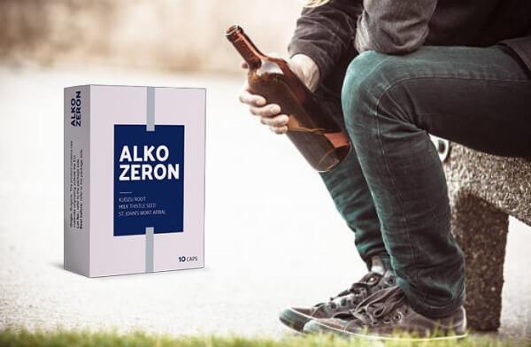 capsules d'alkozeron, mâle, alcool