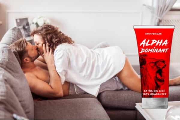 crème alphadominante, couple, sexe, érection