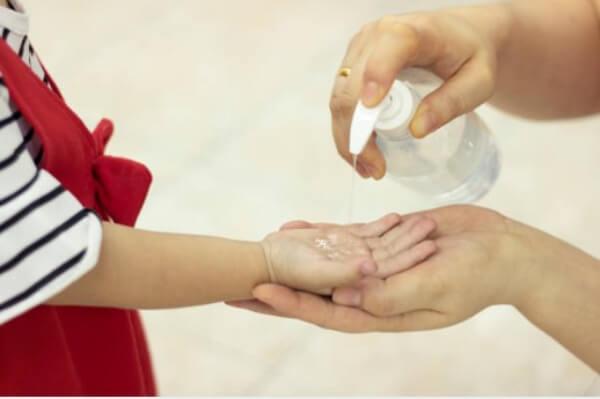 lavage des mains, désinfectant, gel