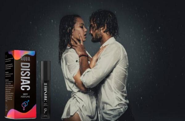 Aqua Disiac, homme et femme dans un moment intime