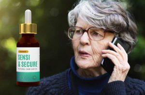 Auresoil Sensi & Secure, une femme qui parle au téléphone