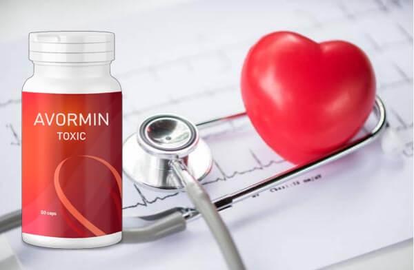 avormine toxique, capsules, coeur, hypertension