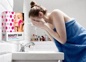 Beauty360, la fille se lave le visage