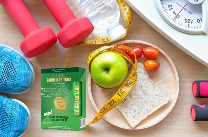 Bioveliss Tabs, pomme, centimètre, échelle