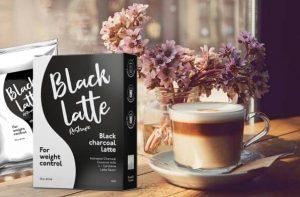 Une tasse de café Black Latte