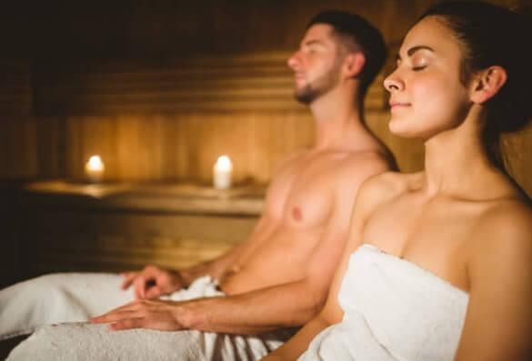 Sauna pour le stress et les douleurs articulaires