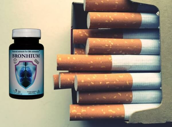 capsules bronchiques, cigarettes, détox