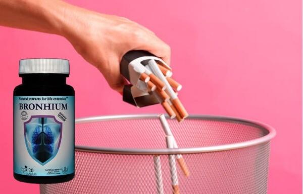 capsules bronchiques, cigarettes