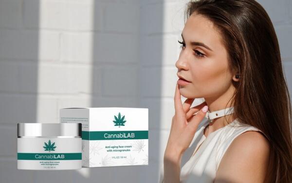 CannabiLAB crème visage femme