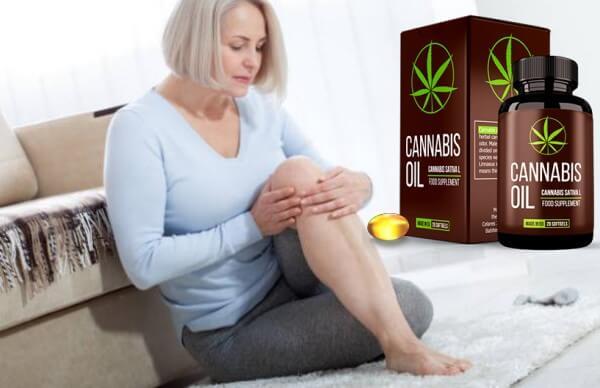 prix de l'huile de cannabis France, femme, douleur au genou,