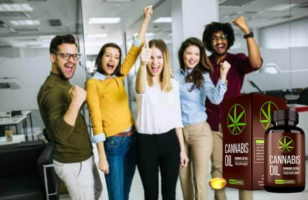 capsules d'huile de cannabis pour des articulations saines