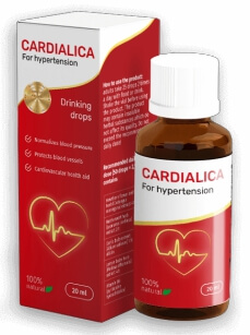 Cardialica Gouttes pour Hypertension France