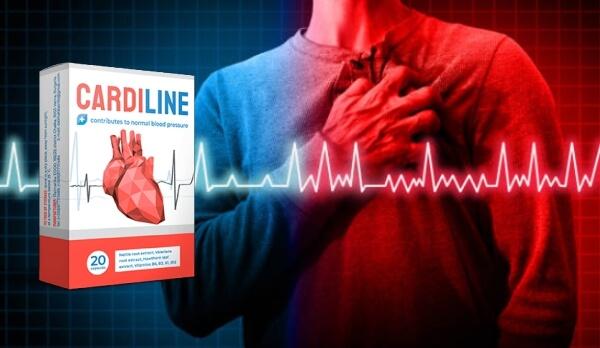 cardiline, capsules, hypertension, coeur