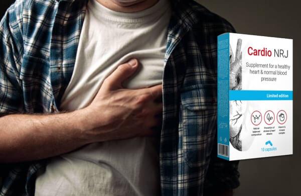 cardio nrj, capsules, cœur, hypertension artérielle, instruction