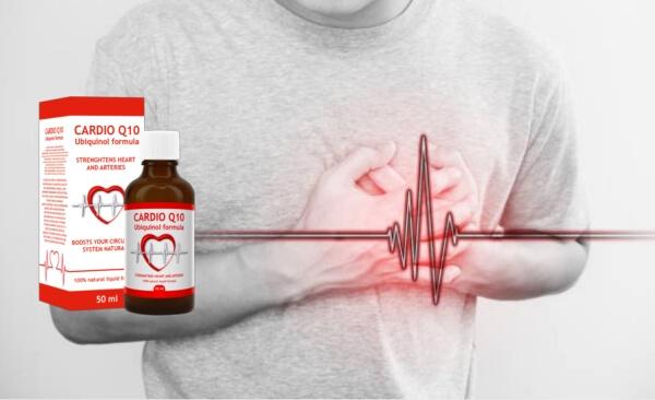 Cardio Q10 gouttes, un homme souffrant de douleurs cardiaques