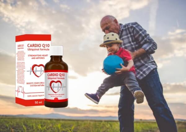 Cardio Q10, grand-père et petit-fils