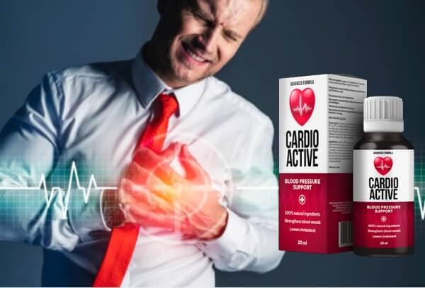 gouttes cardio actives, hypertension, coeur