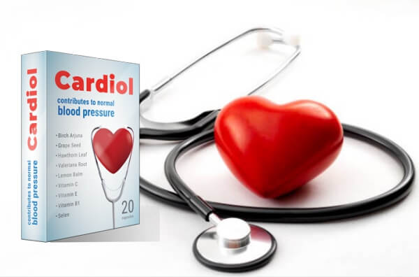 capsules de cardiol, coeur, hypertension