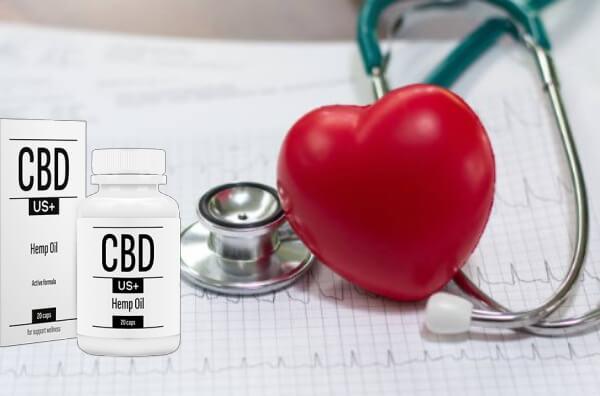 cbdus plus +, gélules, coeur, hypertension