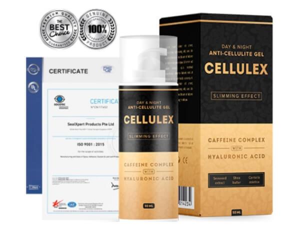 certificat de gel cellulex