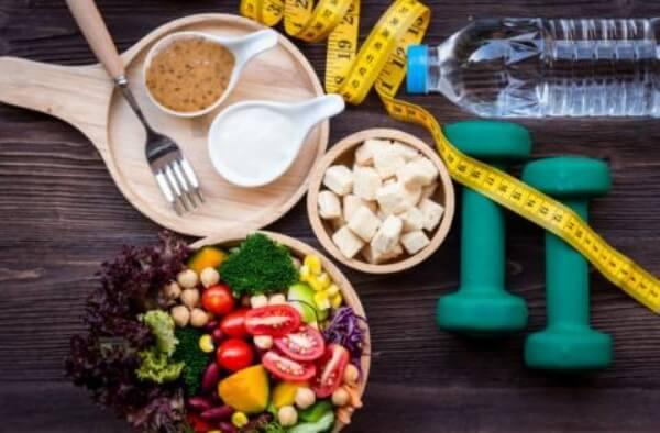 nourriture, sports, eau