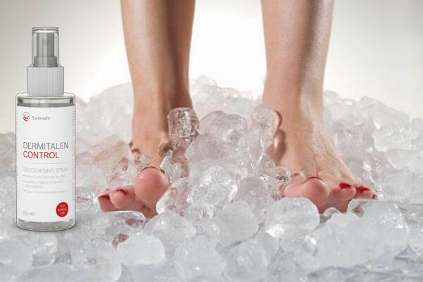 Dermitalen Control, jambes, glace