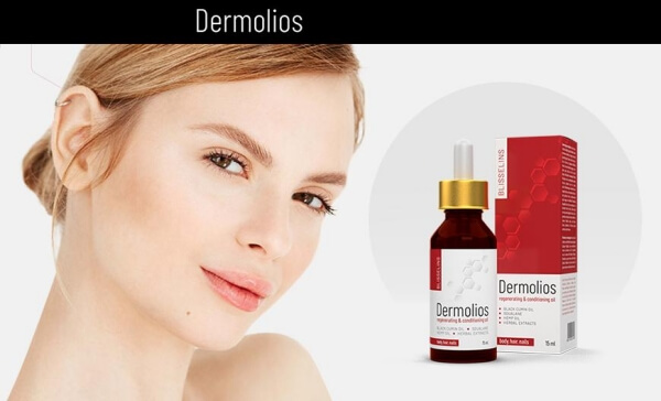 Dermolios, crème, visage, femme