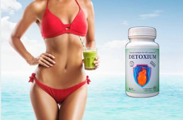 detoxium, comprimés, femme, detox