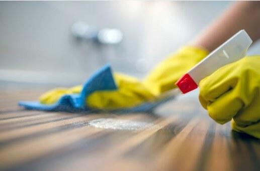 désinfection à domicile