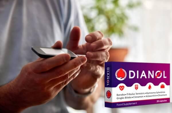 gélules de dianol, diabète, glycémie
