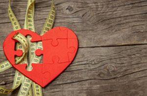 Coeur et centimètre