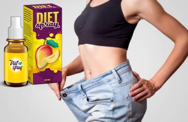 spray diététique, femme mince, perte de poids