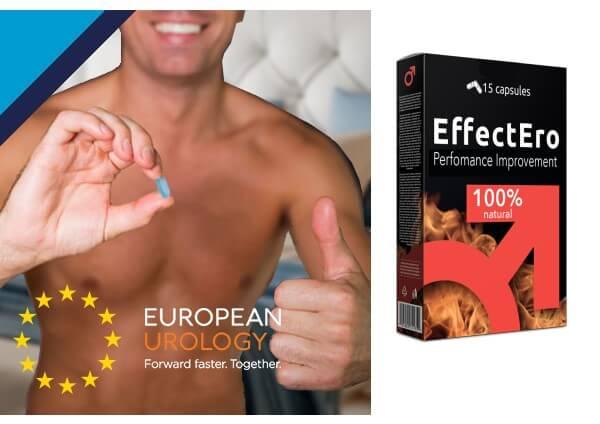 capsules effectero, avis, érection