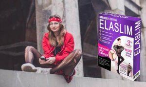 Collants ElaSlim, fille avec des points de suture