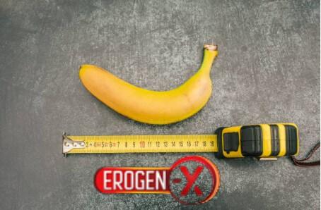 banane, centimètre, érogène x