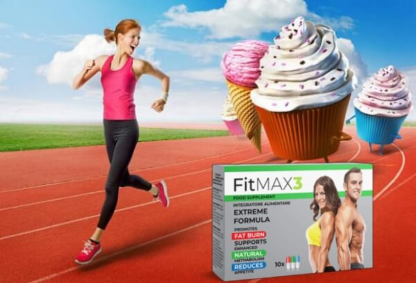 FitMax3, femme, cupcakes