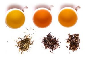 thé vert, noir et phytobalt à base de plantes
