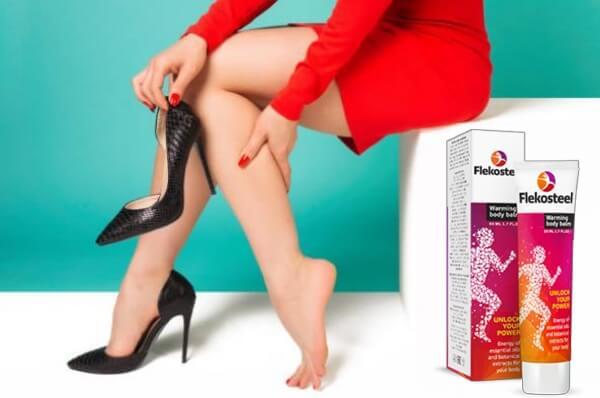 gel flekosteel, jambes féminines