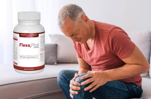 Flexa Plus Optima, un homme souffrant de douleurs au genou