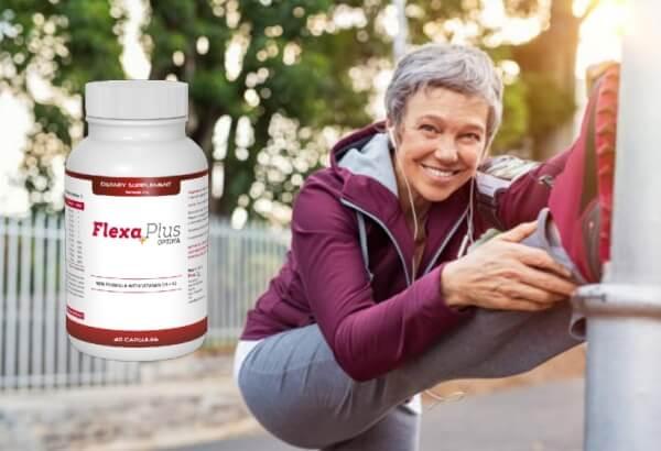 Flexa Plus Optima, une femme au parc