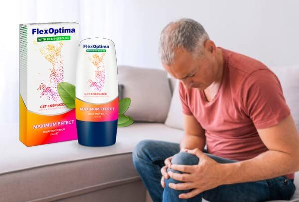 flexoptima, homme, douleur au genou