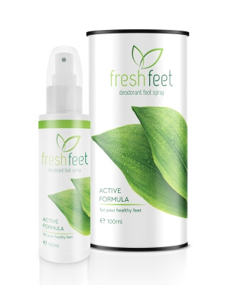 Spray pieds frais