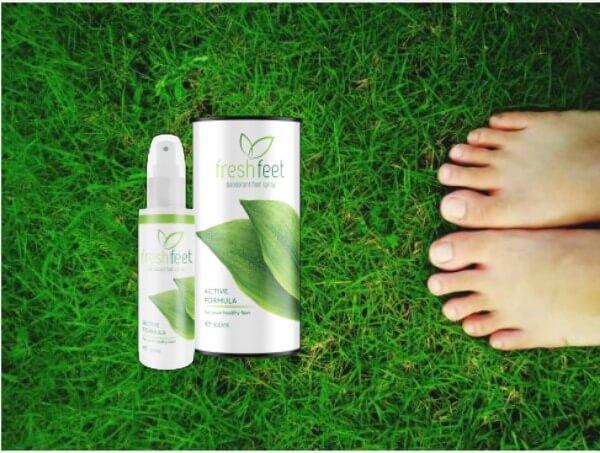spray pieds frais, pieds, champignon