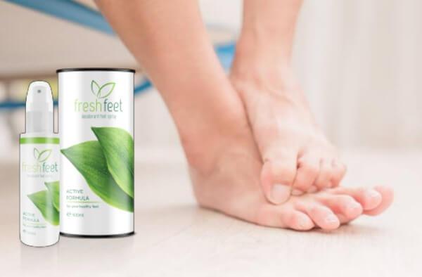 spray pieds frais, pieds