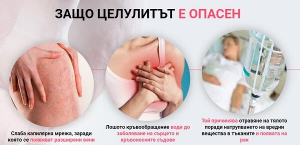 danger et effet de la cellulite