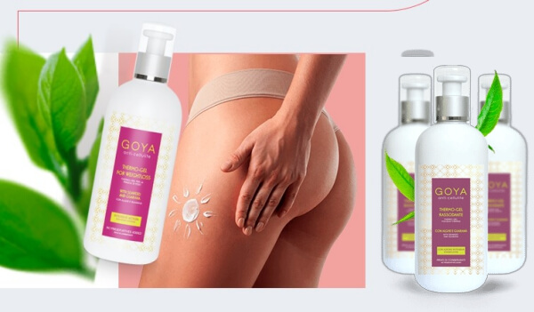 gel thermo anticellulite goya, cellulite