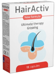 Gélules HairActiv