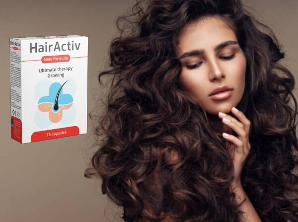 hairactiv capsules, cheveux volumineux