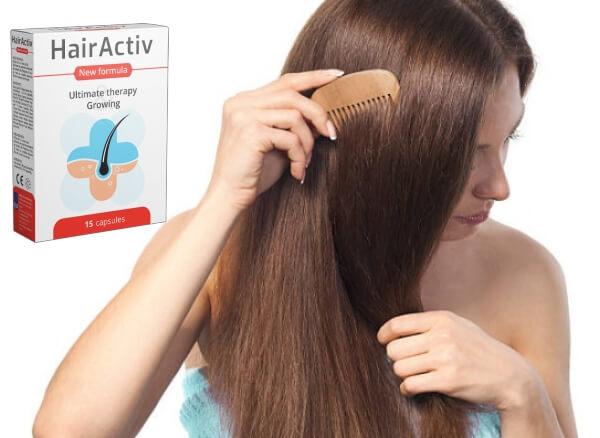 capsules hairactiv, cheveux, chute de cheveux
