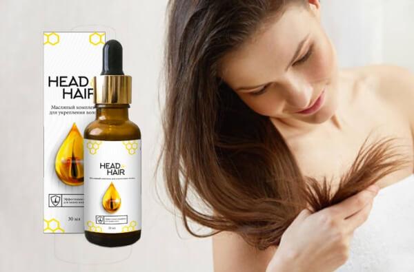 Sérum d'huile pour la tête et les cheveux
